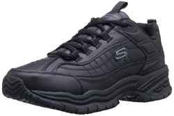 Skechers for Work Mens 76759 Soft Stride Galley Work Boot