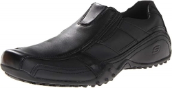 Skechers for Work Mens Rockland-Hooper Slip Resistant Slip-On Shoe