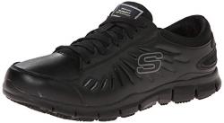 Skechers for Work Womens Eldred Slip Resistant Shoe
