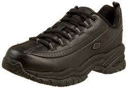 Skechers for Work Womens Soft Stride-Softie Slip Resistant Lace-Up