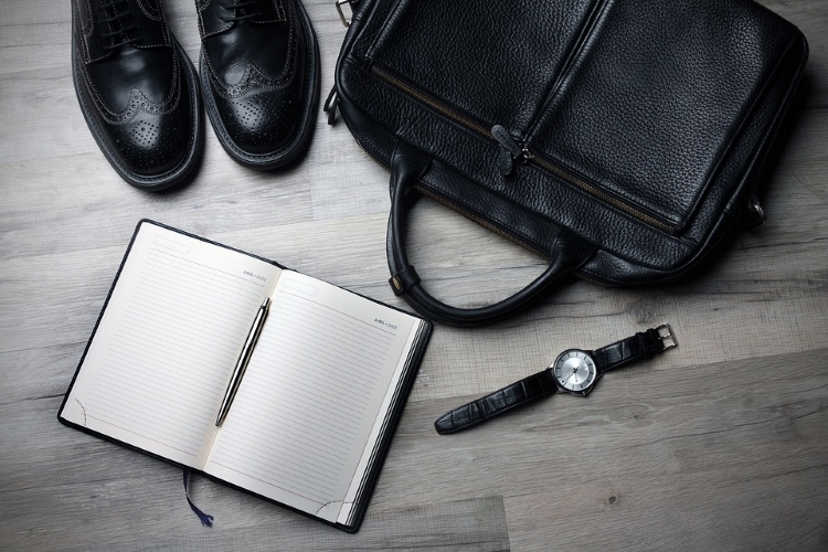Watch Diary Dress Shoes and Bag