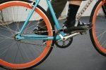 Man Riding Fixed Gear Bike