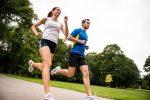 Jogging outdoor in park