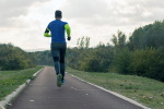 Man Jogging in Sports Clothing